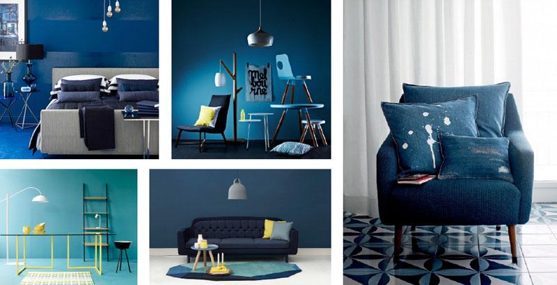Blauw in het interieur de nieuwe trend kleur u interieur by cher