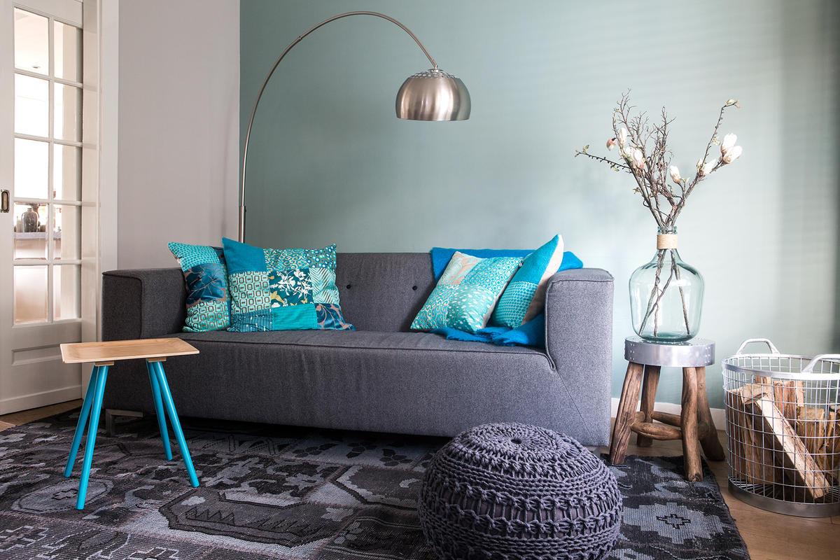 Wonderbaar Blauw in het interieur, de nieuwe trend kleur! – interieur by cher PR-35